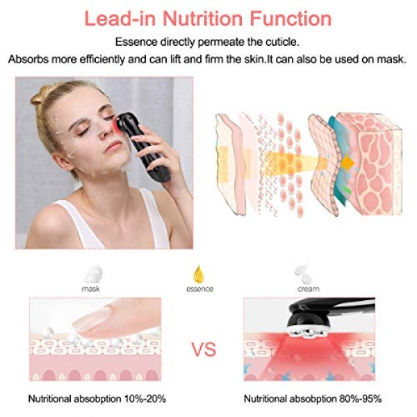 5 in 1 Facial Massager Home Use Beauty Device with 6 Color Model