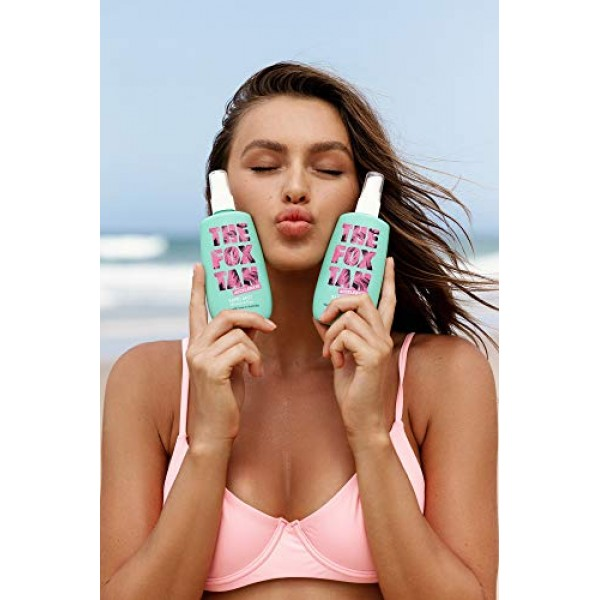 The Fox Tan Double Mist Pack | Natural Tanning Lotion & Accelerat...