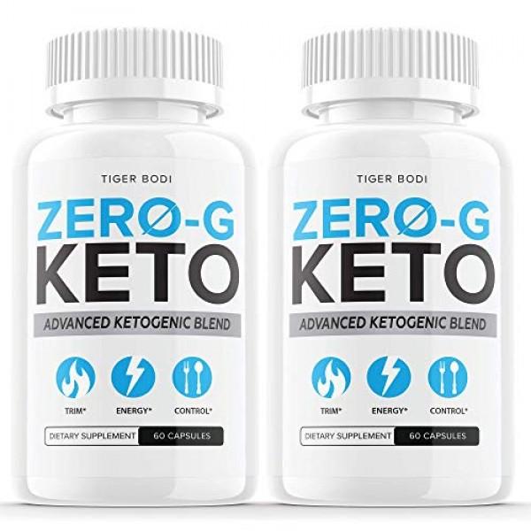 2 Pack Zero G Keto Pills Zero-G Keto Capsules Powder Tablets Su...