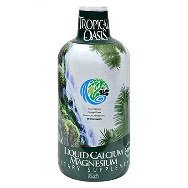 Premium Liquid Calcium Magnesium Citrate - Natural formula w/ sup...
