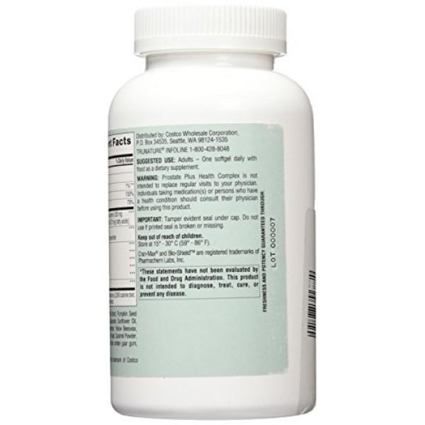 Trunature Saw Palmetto Prostate Health Complex with Zinc, Lycopen...