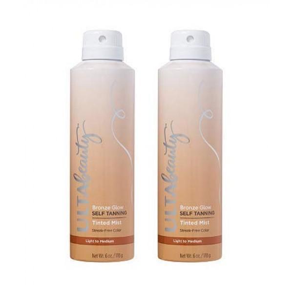 Ulta Beauty 2 Pack Bronze Glow Self Tanning Tinted Mist Size 6 oz...