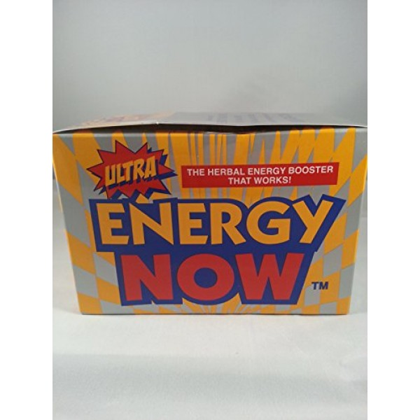 Ultra Energy Now 48 Packets of 3 Tablets Each
