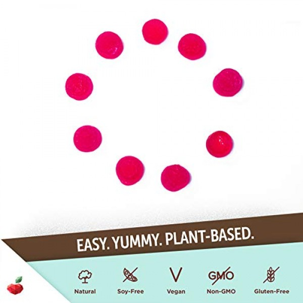 Yuve Vegan Biotin 5000 mcg Gummies - For Longer, Stronger, Health...